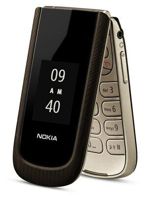 Nokia 3711 Sable - Black coffee (T-Mobile) 3G GSM Cellular Phone - Brand New
