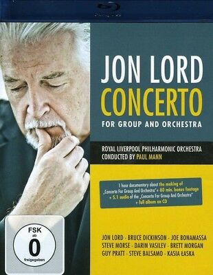 Jon Lord - Concerto For Group and Orchestra [New Blu-ray] With