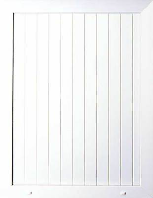 PVC uPVC White Half Door Panel 24mm 28mm 790mm x 950mm <T+G>