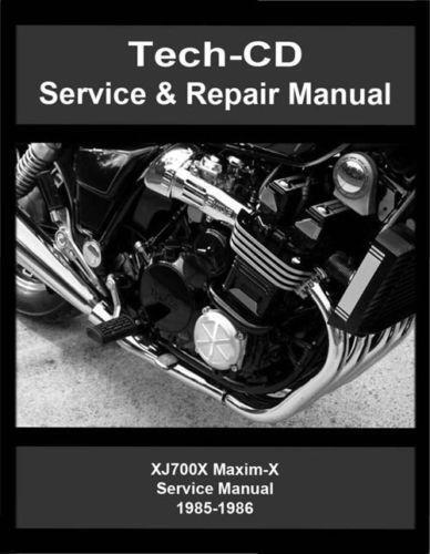 Yamaha Xj700 Manual