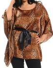 Plus Size Formal Leopard for Women