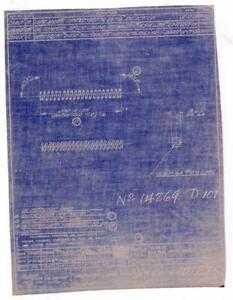 Blueprint ebay vintage blueprints malvernweather Choice Image