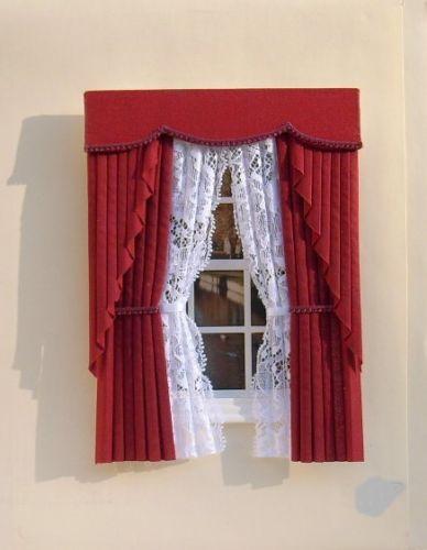 dolls house window treatments