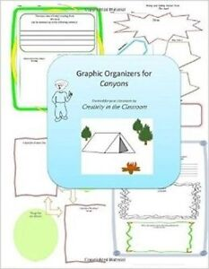 Graphic Organizers for Canyons by Classroom, Creativity in the -Paperback