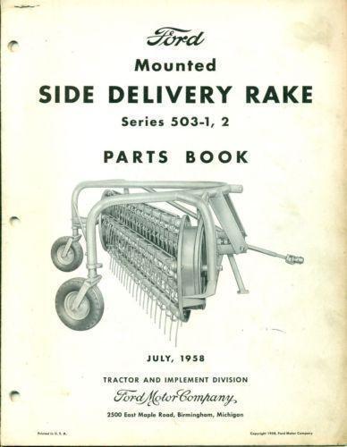International 35 Hay Rake Parts : Side delivery rake ebay