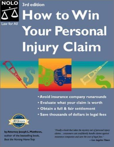 How to Win Your Personal Injury Claim, 3rd Ed-ExLibrary 1