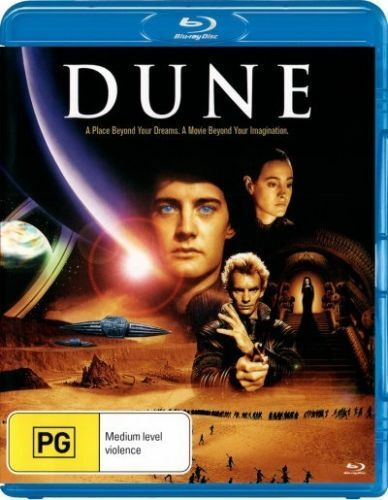 Dune (Blu-ray, David Lynch) BRAND NEW SEALED REGION B