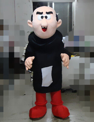 Halloween Mascot Costume Suits Gargamel Parade Cosplay Outfits Party Game Dress