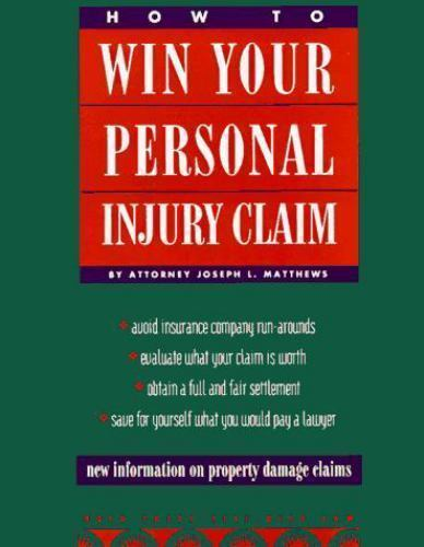 How to Win Your Personal Injury Claim 2nd ed 1