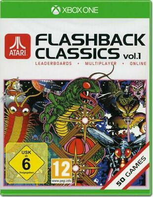 Atari Flashback Classics Collection Vol.1 Xbox One Game Excellent Condition