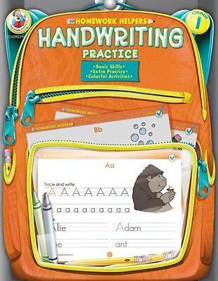 Handwriting Practice, Grade 1 (Homework Helper) by Frank Schaffer Publications
