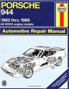 Haynes Porsche 944 (83 - 89) Repair Manual (80035)
