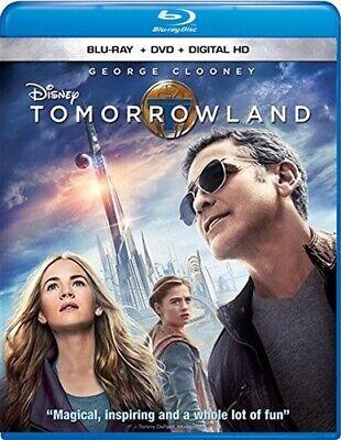 TOMORROWLAND New Sealed Blu-ray + DVD Disney George Clooney