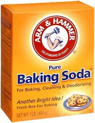 ARM - HAMMER Pure Baking Soda 16 oz (Pack of 2) Arm & Hammer Baking Soda