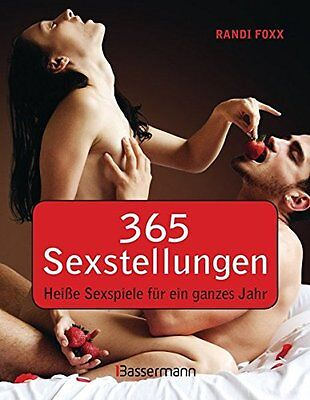 365 Sexstellungen Heisse Sexspiele Paare Erotik Sex Buch für ein ganzes Jahr NEU