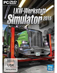 pc computer spiel lkw werkstatt simulator 2015 15. Black Bedroom Furniture Sets. Home Design Ideas
