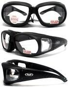 Safety Glasses Over Glasses