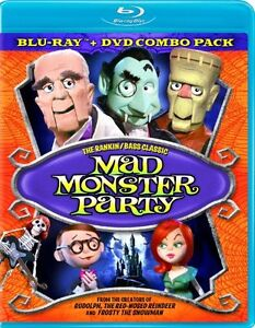 NEW Mad Monster Party [Blu-ray]