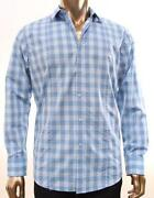 Mens Plaid Shirt Medium