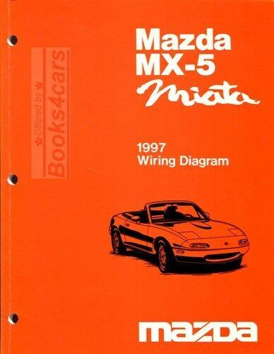 Miata 1997 Mazda Electrical Manual Wiring Diagram Schematics Mx5 Book Ebay