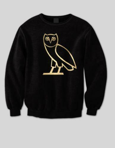 Ovo Owl Crewneck Clothing Shoes Amp Accessories Ebay