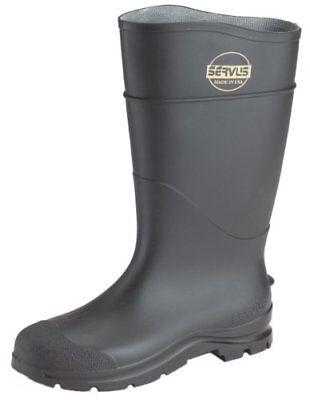 """1 Pair  Norcross Servus 18822-10 16"""" Black Economy Knee Boot Size 10"""