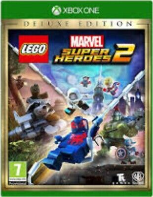 Lego Marvel Super Heroes 2 Deluxe Edition - Xbox One Game. Case and disc.