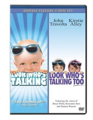 Look Who's Talking / Look Who's Talking Too [New DVD]