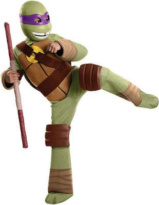 Deluxe Donatello Teenage Mutant Ninja Turtle Halloween Boys Child Costume 886761](Donatello Ninja Turtle Halloween Costume)