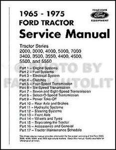 Ford tractor manual ebay ford 2000 tractor manual publicscrutiny Choice Image