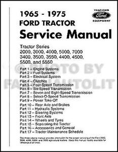 oliver 550 tractor wiring diagram ford    tractor    manual ebay  ford    tractor    manual ebay