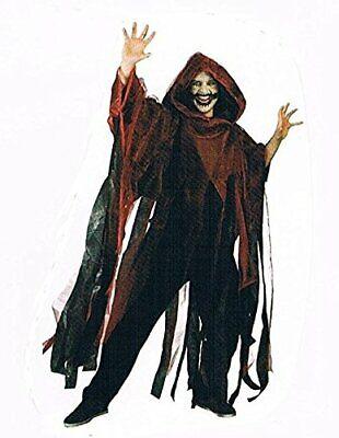 Cape Umhang-Kostüm-Halloween-für-Erwachsene-Maske-Zombi-Leiche-Kürbis-Gruseln - Kostüm Halloween Für Erwachsene