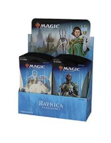 Mtg Magic Ravnica Allegiance Theme Guilds Booster Box: 10 Packs Sealed