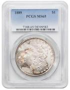 1889 Morgan Dollar MS65