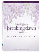 Twilight Breaking Dawn DVD