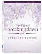 Twilight Breaking Dawn DVD