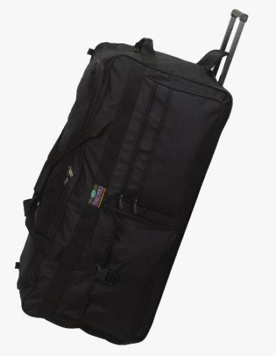 rolling wheeled duffel bag luggage ebay. Black Bedroom Furniture Sets. Home Design Ideas