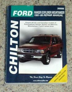 Explorer Repair Manual