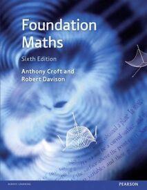 foundattion maths sixth edition