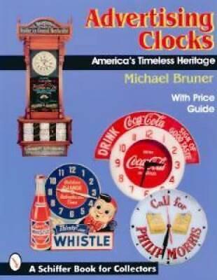 Vintage Advertising Clocks ID$ Book 1870 - Neon Bar Oil