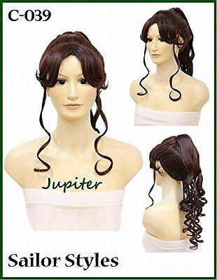 Sailor Jupiter Halloween Costume (Wigs2you Halloween Costume Sailor Jupiter Cosplay Wig C-039)
