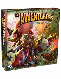 The Adventurers : Temple of Chac Board Game BRAND NEW DU17