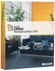 Microsoft Office Professional 2003 Full Version  + 1 Memory stick *NEW*