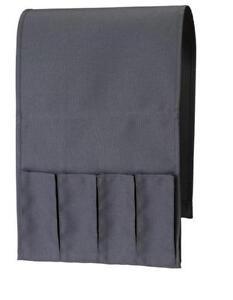 NEW IKEA ARM CHAIR REMOTE CONTROL POCKET STORAGE ORGANISER