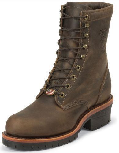 Chippewa Logger Boots Ebay