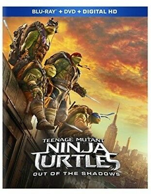 Teenage Mutant Ninja Turtles: Out Of The Shadows [New Blu-ray] With DVD, Digit (Ninja Turtles Out Of The Shadows)