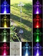 Solar Lighted Cross