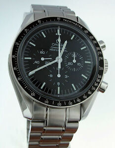 NEW Authentic Omega Speedmaster Professional Moonwatch Manual Wind Watch 3570.50