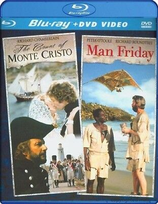 The Count of Monte Cristo / Man Friday [New DVD] With (The Count Of Monte Cristo Blu Ray)