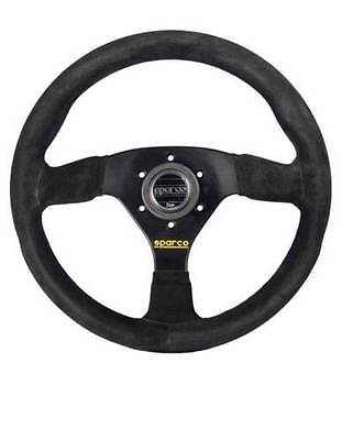 SPARCO Competition STEERING WHEEL 383 330MM Suede BLACK 015R383PSN Authentic!
